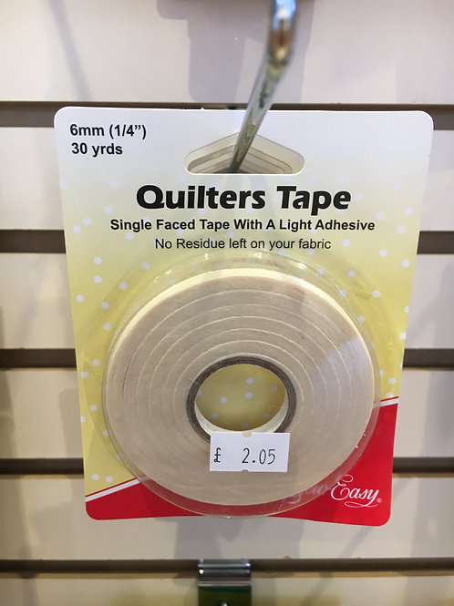 Quilting Tape 1/4ins 30yds
