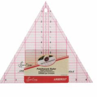 8ins Triangle ruler