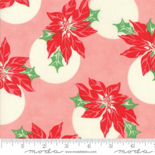 Swell Christmas-Poinsettias pink