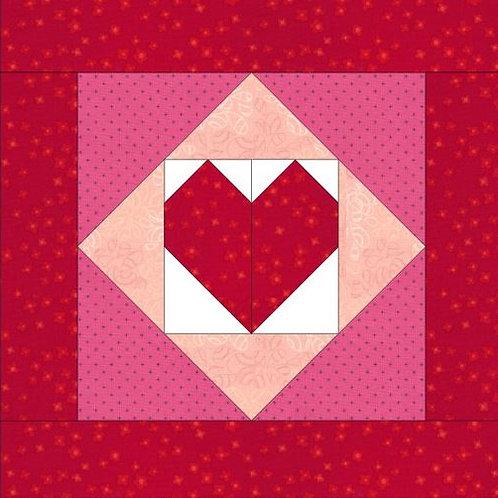 Heart mug rug-PDF