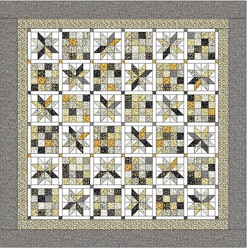 Easy Beezy Quilt Pattern-By Winking Owl Patterns