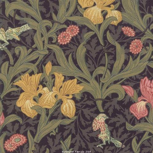 May Morris- Black floral