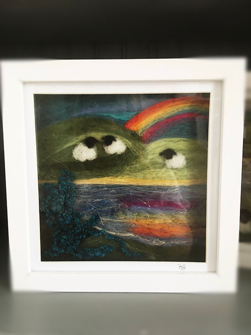 Needlefelt Artwork-medium-Over the Rainbow