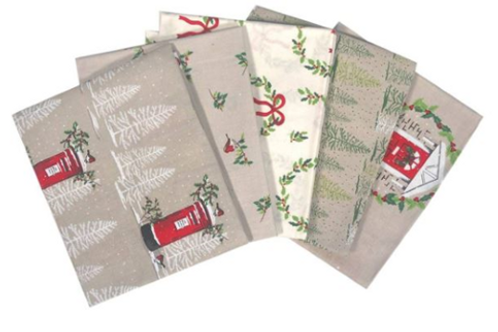 Craft Cotton Co. Snowy Woodland Fat Quarter Bundle