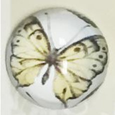 22mm Butterfly dome buttons