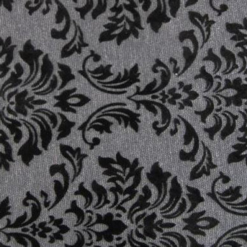 Flocked Jersey dk grey