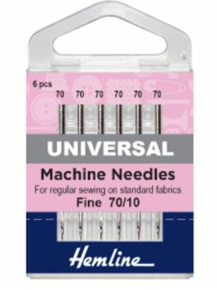 Machine needles size 70