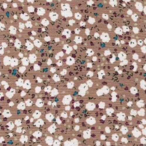 Floral Chiffon Taupe