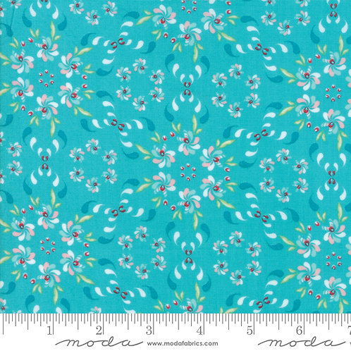 Coledale Floral Wreath Turquois