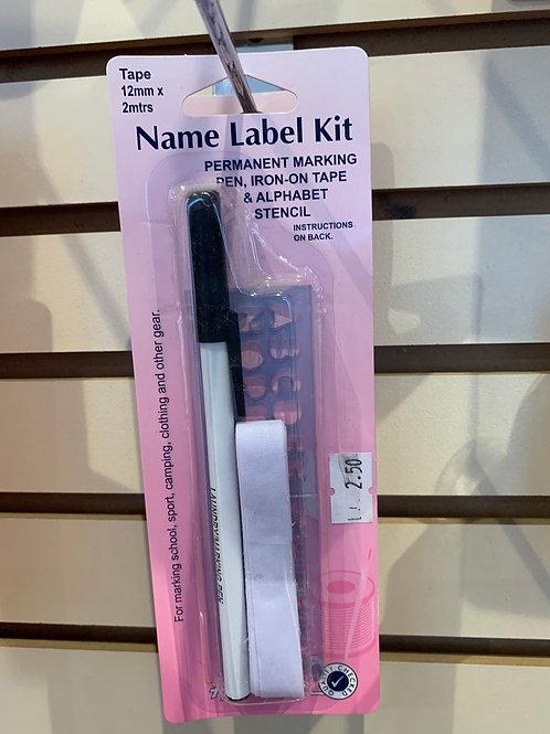 Name Label Kit