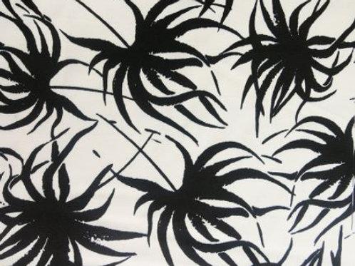 Palm leaves Viscose twill