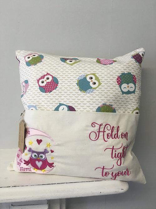 Book Pocket Cushion