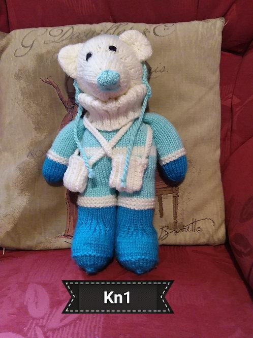 Knitted Polar Bear