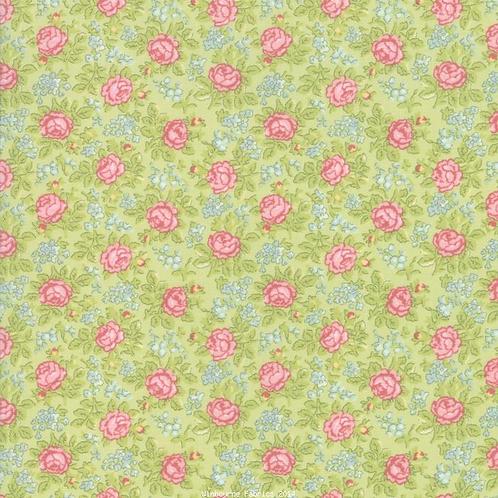 Bramble Cottage Green Floral-Brenda Riddle-Moda