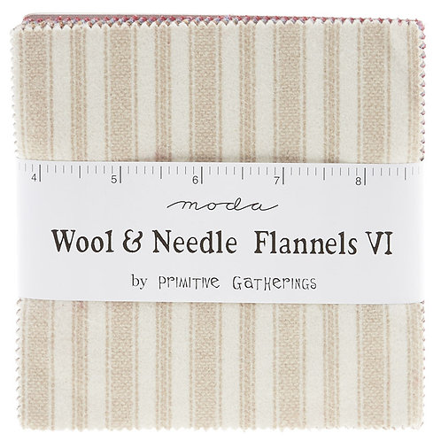 Wool and Needle Flannels VI