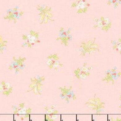 Bramble Cottage - Pink by Brenda Riddle from Moda