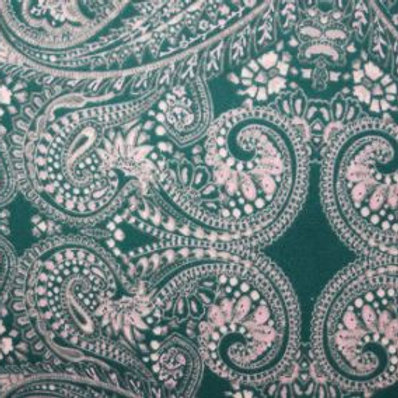 Paisley Jersey-green