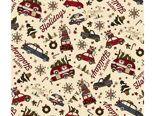 Buttermilk Winter American car