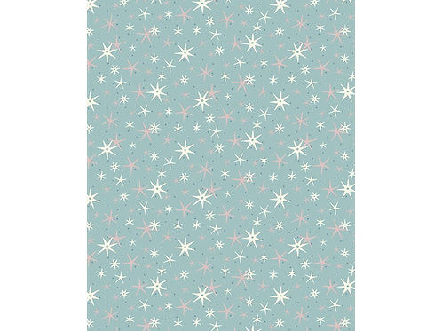 Liberty Festive collection Blue-Star frost