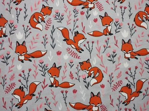 foxes cotton jersey