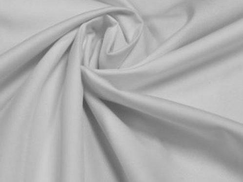 Plain cotton drill white
