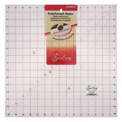 Sew Easy 15.5ins x 15.5ins square ruler