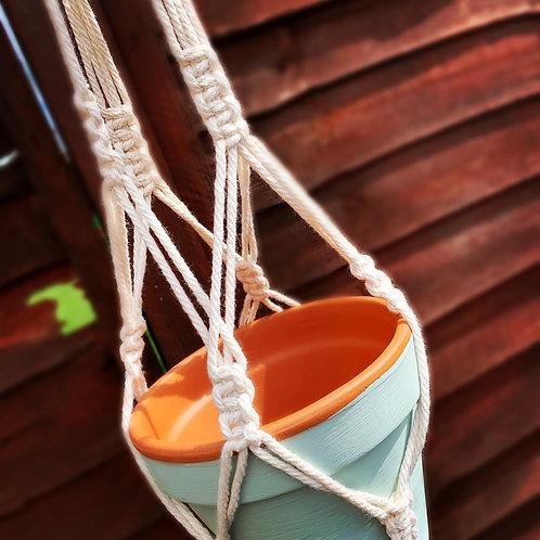 13CM  Macrame Hanging Plant pot