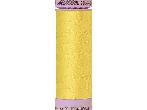 Silk finish cotton no 50 150m Yellow