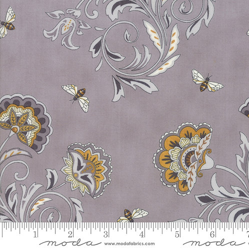 Bee Joyful - Deb Strain Grey Floral