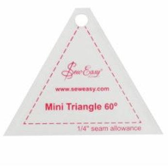Mini 60 degree triangle ruler