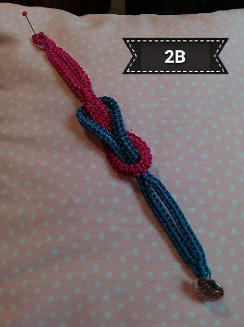 Macrame -'Love knot' Bracelet
