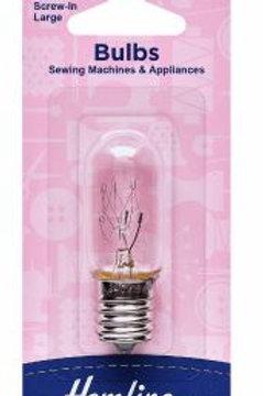 Machine light bulb-screw in- large
