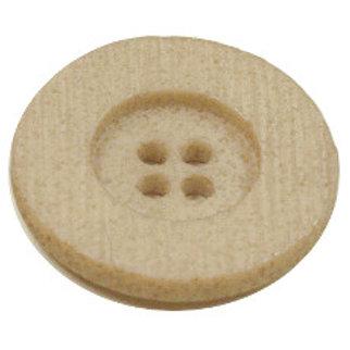23mm Beige 4 hole button