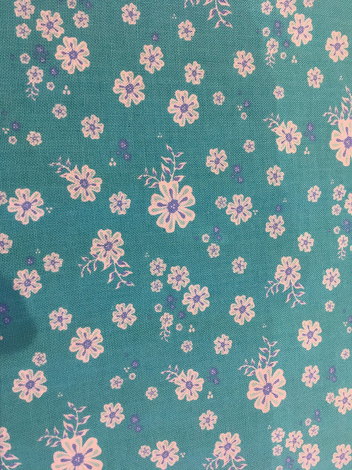 Coledale Tiny Floral Turquoise