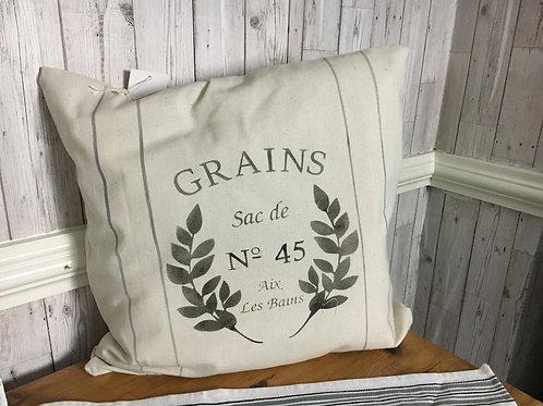 Grain Sack Style Cushion