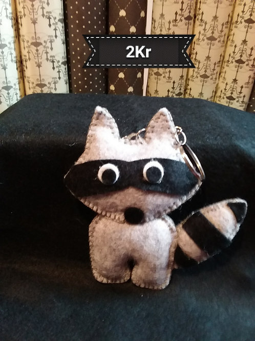 Racoon Key ring