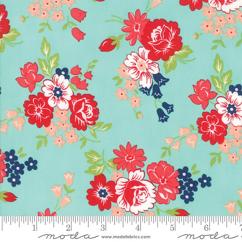 Smitten by Bonnie and Camille Bouquet Aqua