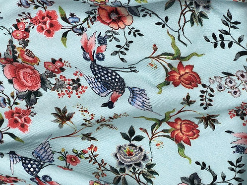 Bird and floral Jersey