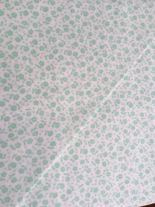 Guest room-Green Ditsy floral
