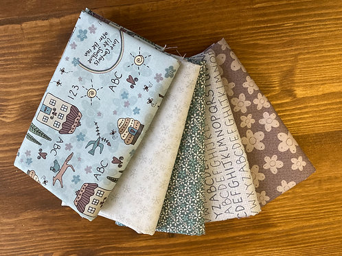 Sunshine after the rain-Lynette Anderson- Fat quarter bundle