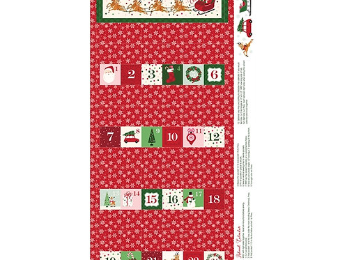 Merry and Bright Advent panel