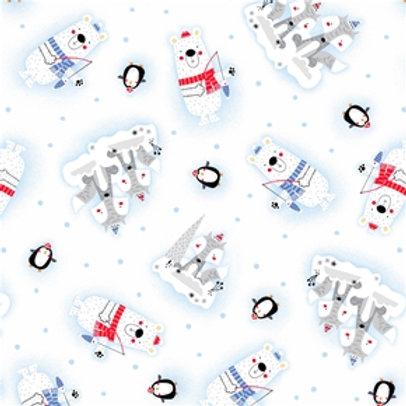 Polar pals-penguins