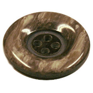 23mm Brown marble 4 hole button