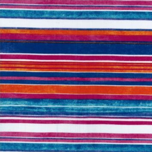 Stripe Cotton Sateen