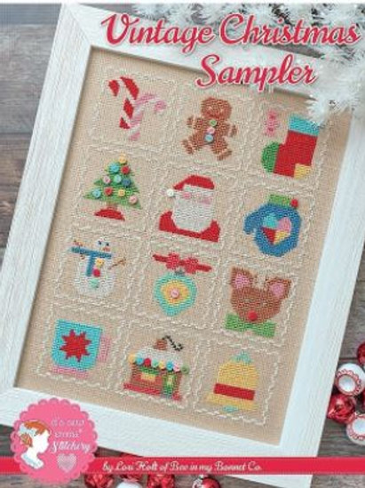 Vintage Christmas Sampler by Lori Holt-Its Sew Emma