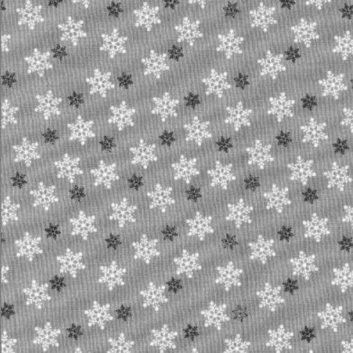 Christmas Snowflakes-polycotton