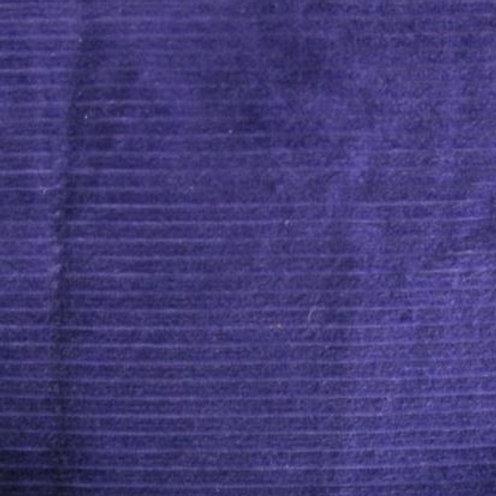 Wale cord dk Purple