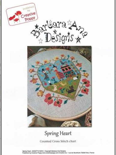 Spring Heart - Barbara Ana Designs