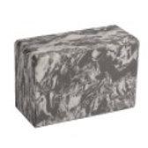 4 in. Marbled Foam Yoga Block