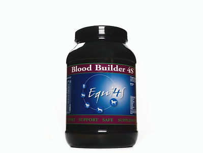 Feed supplement for horses blood profile, Blood builder 4S